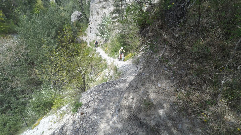 [Isère] Rando VTT Circuit N°18 - Tour du lac du Sautet