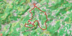 Lamastre - Col de Montreynaud