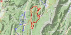 Site VTT-FFC Villard de Lans - Corrençon - Circuit N° 49 : La Royale