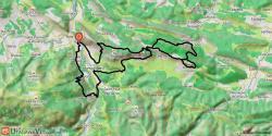 Belle boucle entre Foix et Roquefixade