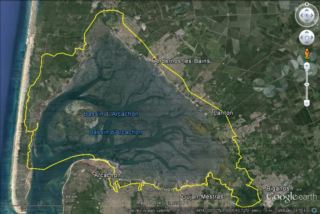 Gironde Rando Vtt Tour Du Bassin D Arcachon